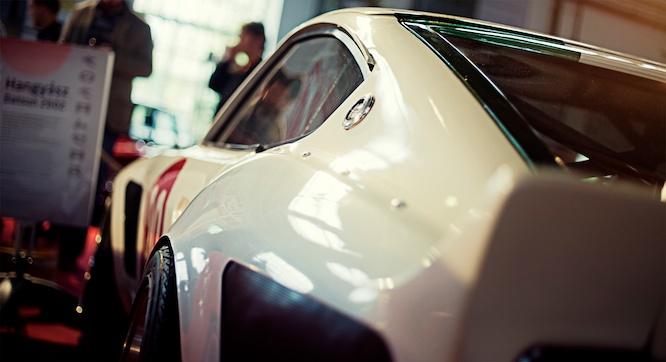Datsun 260Z S30 widebody with S13 suspesion - Aardvark