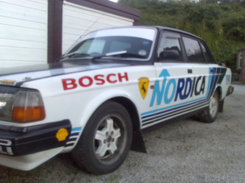 something very different! nordica volvo 240 | Driftworks Forum