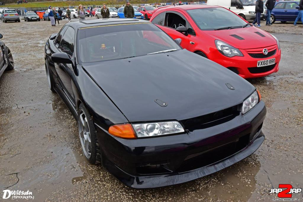 1JZ R32 Skyline Drift Car Pic Heavy With Lot of Little