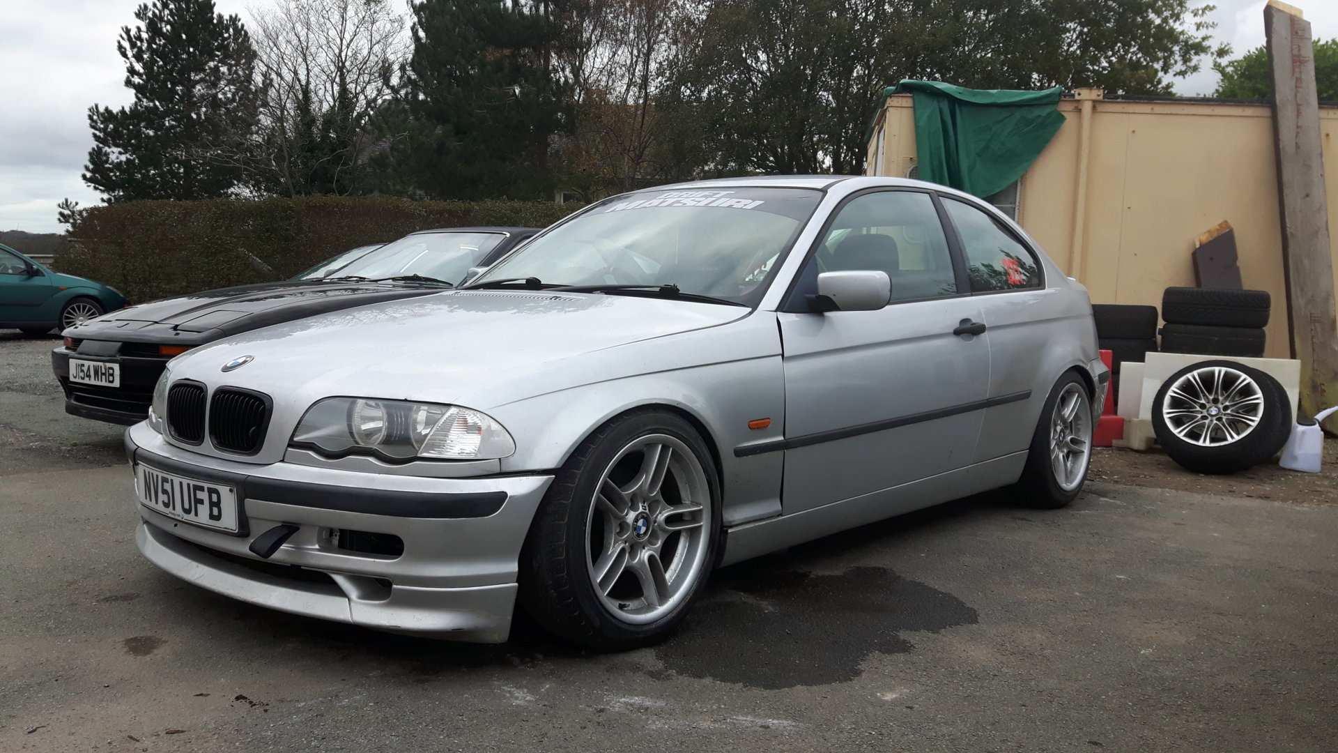 for sale bmw e46 3 0 litre compact ready to go driftworks forum. Black Bedroom Furniture Sets. Home Design Ideas