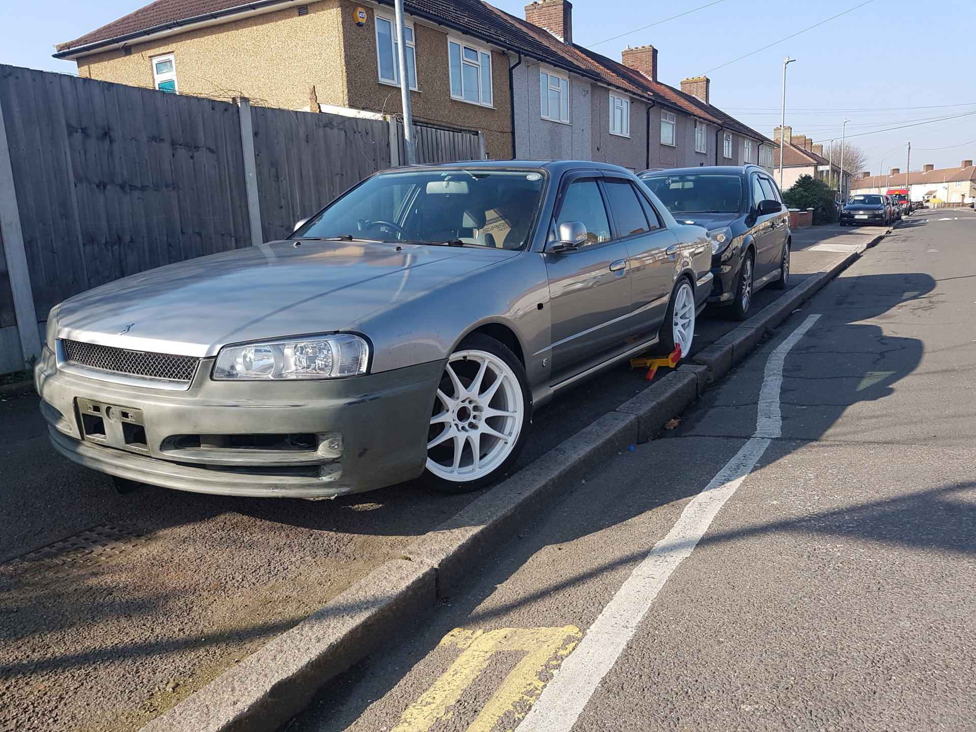 Nissan skyline r34 GT34 SALOON FOR SALE UNFINISHED PROJECT ...