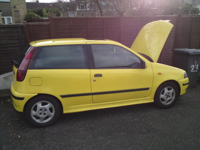 Car For Sale Fiat Punto Gt Turbo Expensive Reg Plate Driftworks Forum
