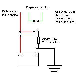 Battery Isolator additionally Wiring Diagram Light Switch For Car also Wiring Harness For Honda Atc 200 in addition Car Engine Kill Switch furthermore 362140706778. on install battery kill switch