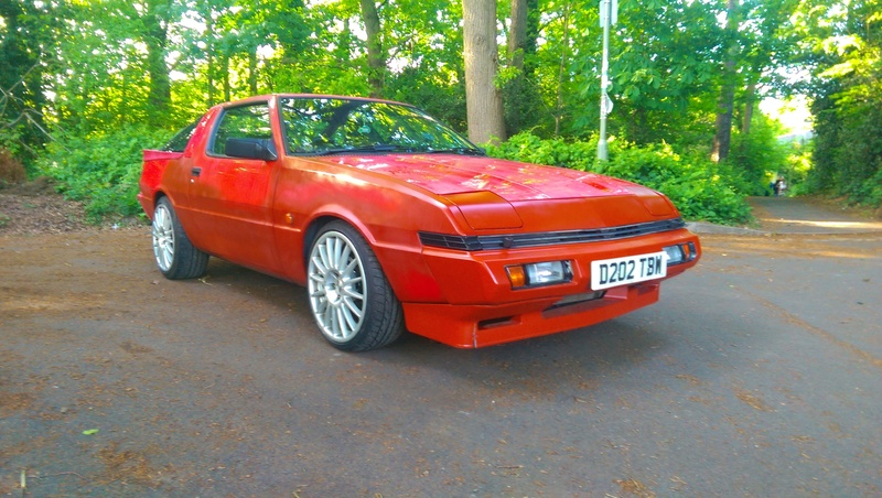 sale born modified facia features starion mitsubishi a for is front star