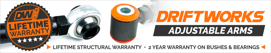 Driftworks Arm Warranty